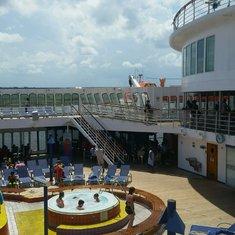 Pool on Carnival Elation