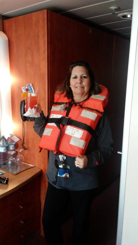 taking no chances! - Carnival Ecstasy