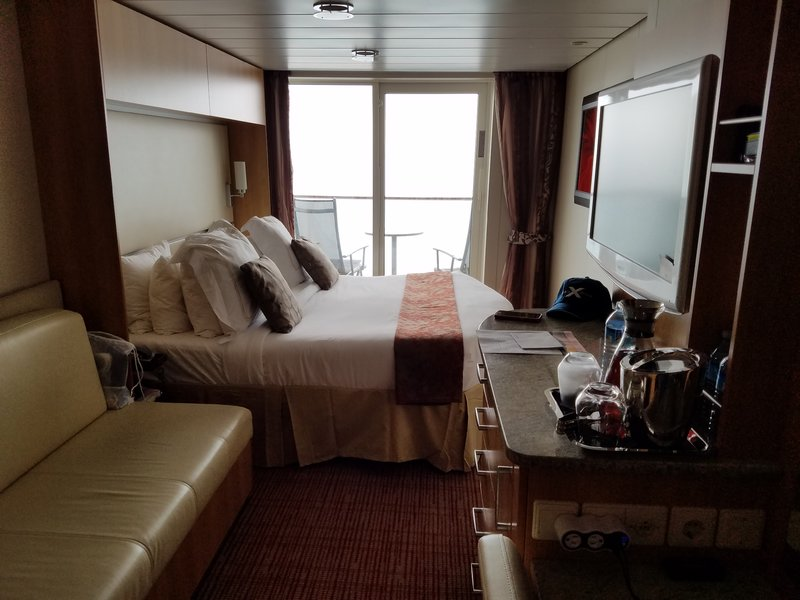 Balcony Cabin 1503 On Celebrity Solstice Category K2