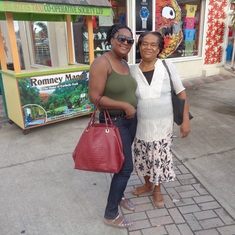 Basseterre, St. Kitts - Mother and daughter