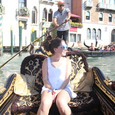 Obligatory gondola ride