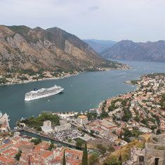Kotor, Montenegro - Hiking the city walls in Kotor
