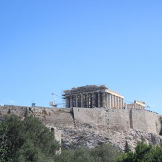 Piraeus (Athens), Greece - Parthenon on Acropolis Rock