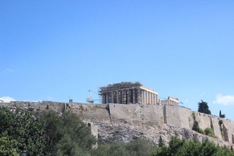 Piraeus (Athens), Greece - Parthenon on Acropolis Rock