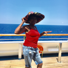 Sports Deck on Carnival Freedom