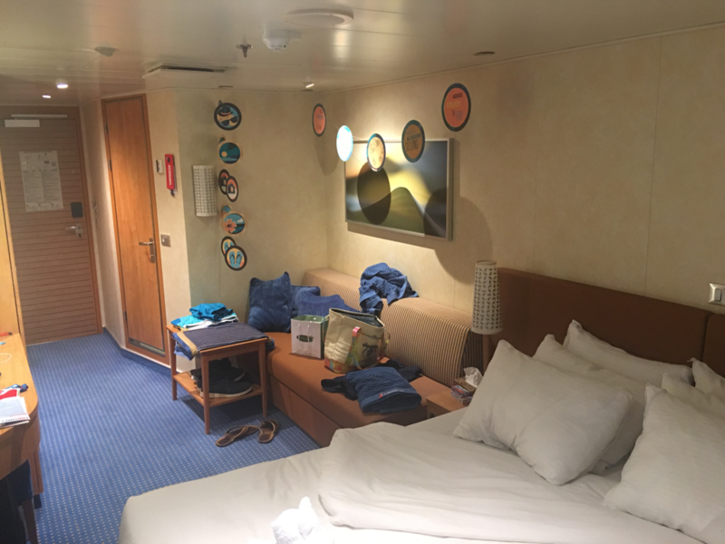Standard Balcony Cabin Category 8d Carnival Vista