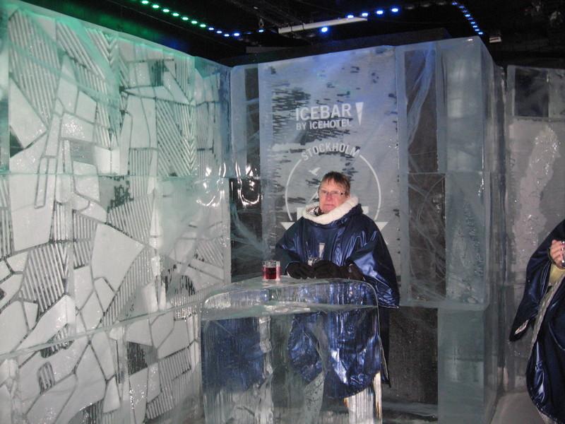 """""""Icebar"""" in Stockholm - Regal Princess"""