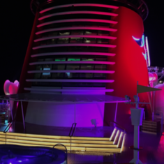 Water Slide on Disney Fantasy