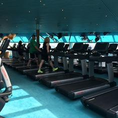 Fitness Center - Carnival Sunshine