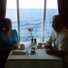 Loved the views at sea.