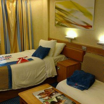 Interior Bunk Bed Stateroom on Carnival Sunshine