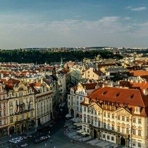 Old Town Squarem Prague