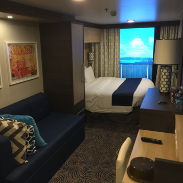 Large Interior Stateroom with Virtual Balcony on Anthem of the Seas