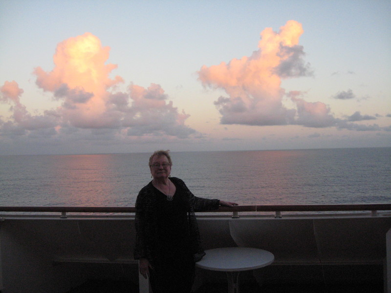 Princess Cays (Cruise Line Private Island) - Loved our huge balcony