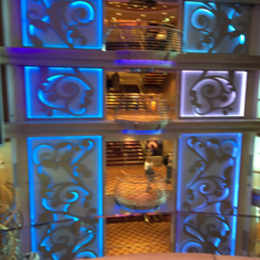 Lobby Bar on Serenade of the Seas