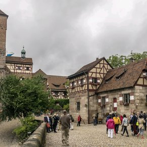 Innenhof der Kaiserburg, Nürnberg
