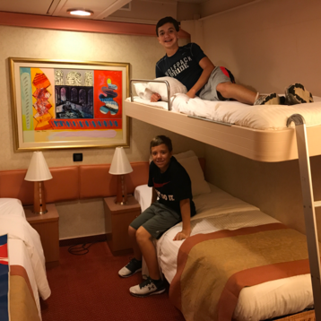 Interior Stateroom on Carnival Liberty