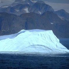 Cruising Prince Christian Sound - Iceberg