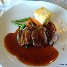 Dinner Entree in MDR