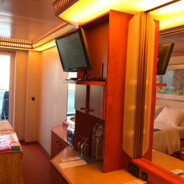 Interior Stateroom on Carnival Miracle