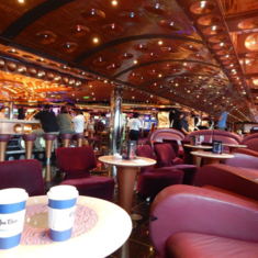 The Coffee Shop on Carnival Splendor