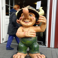 Statue of a Troll