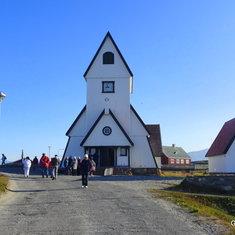 Church in Nanortalik - Greenland