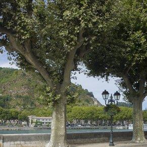 Promenade of Tournon-sur-Rhône