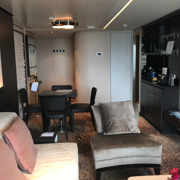 The Haven Aft-Facing Penthouse with Balcony on Norwegian Escape