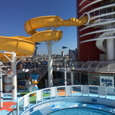 Mickey''s Pool on Disney Wonder