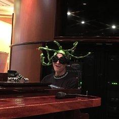 Schooner Bar's Piano Man is brilliant!