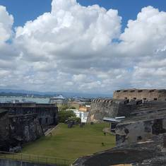 San Juan, Puerto Rico - Old Fort in San Juan