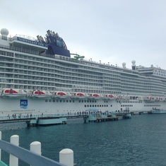 Docked in Jamaica