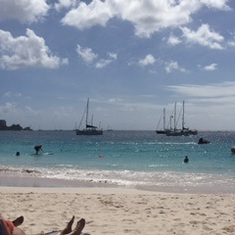 Love the Barbados beach!