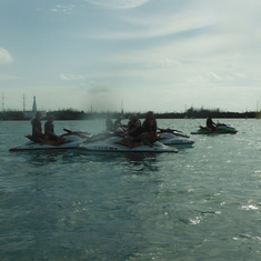 JetSkiing at Key West