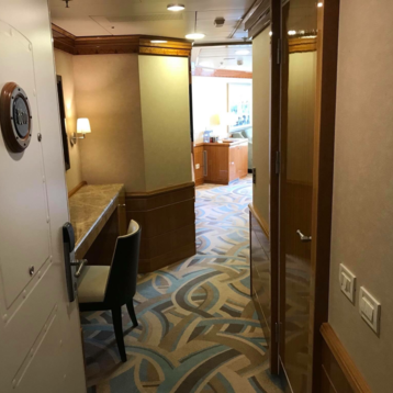 Concierge 1-Bedroom Suite with Verandah on Disney Magic
