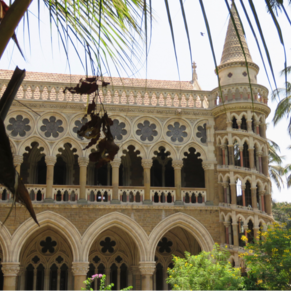 Mumbai, India:  Municipal Courts Building (April 2016)