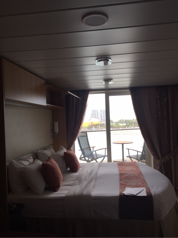 Balcony Cabin 8199 On Celebrity Equinox Category 1a