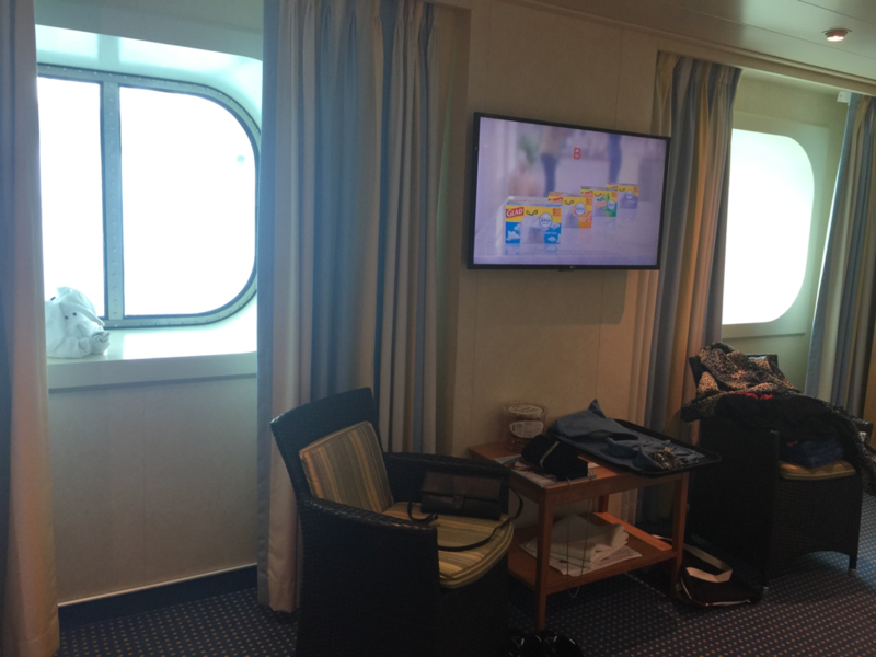 Oceanview Cabin 1472 on Carnival Vista Category 6A