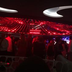 Black and White Lounge on MSC Divina