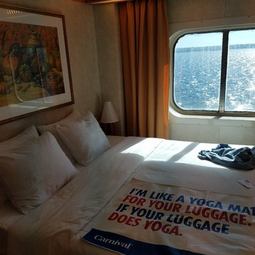 Oceanview Stateroom on Carnival Pride