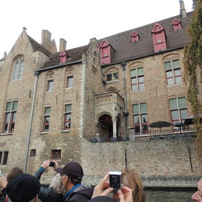 Day ttrip to Brugge - canal tour
