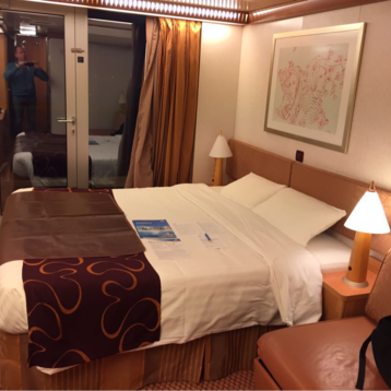 Classic Balcony Stateroom on Costa Deliziosa