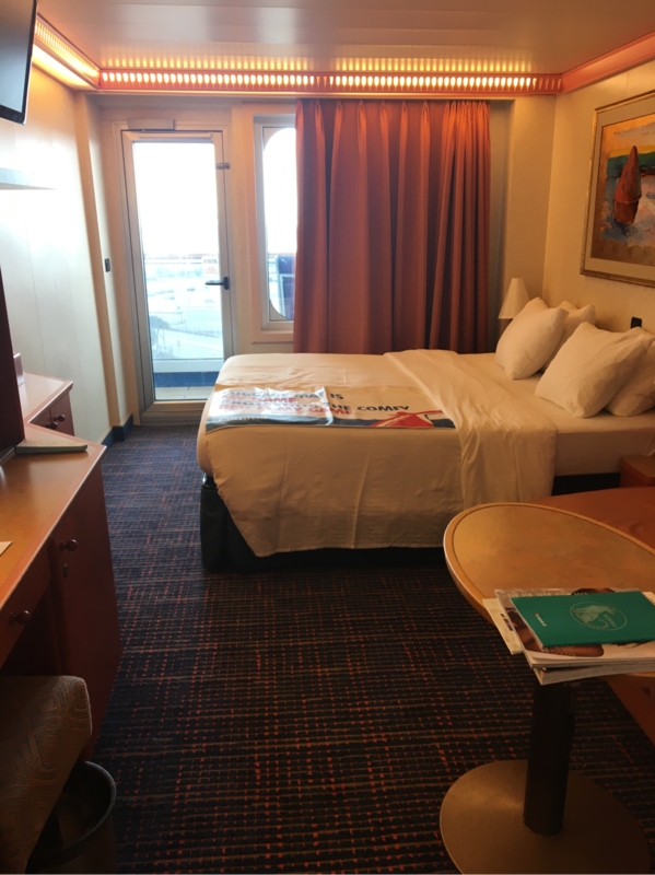 Balcony Cabin 8416 On Carnival Conquest Category 8d