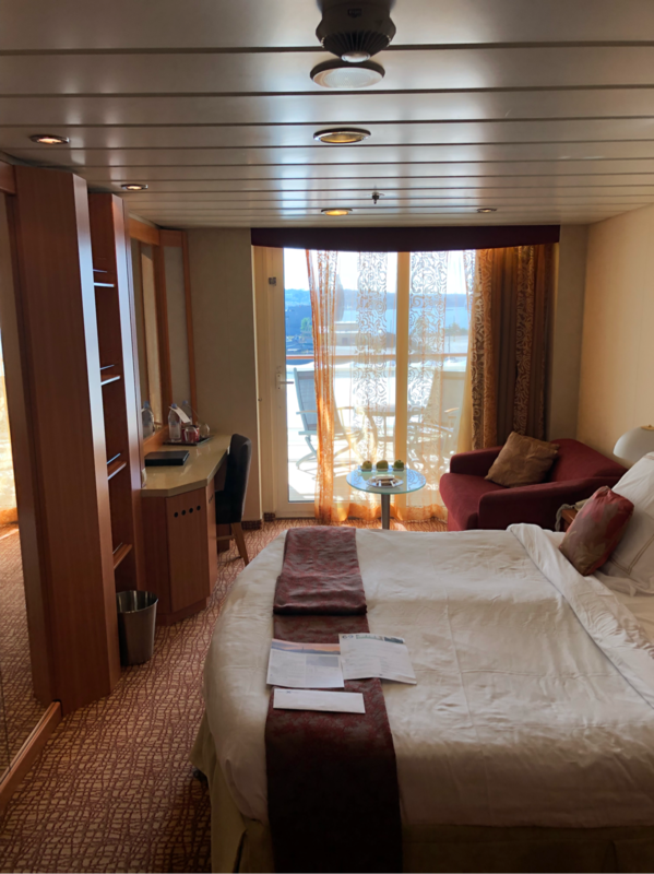 Balcony Cabin 6144 On Celebrity Summit Category W4
