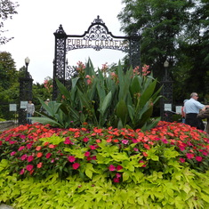 Halifax Public Gardens Entrance