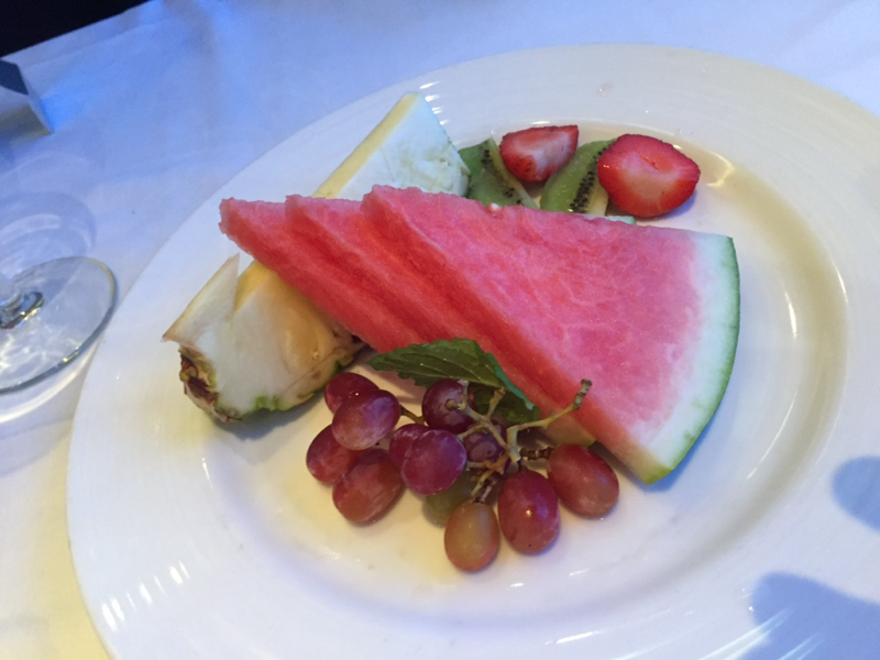 Fruit Plate - Carnival Glory