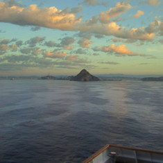 Cruising in to Mazatlan , Mexico