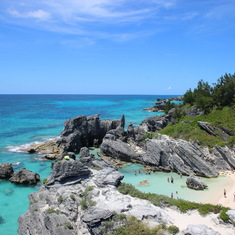 King's Wharf, Bermuda - Horeshoe Bay, small cove to west