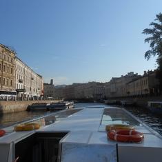 St. Petersburg canals.